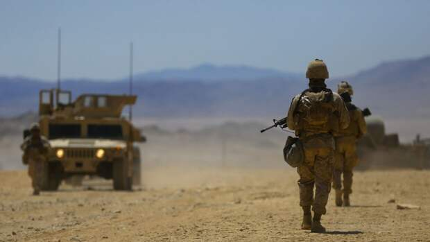 Солдаты США в Сирии