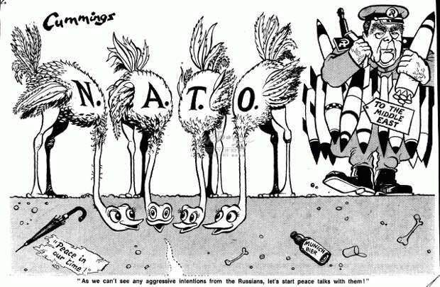 Страны НАТО попрятали головы в песок, а Брежнев поставляет оружие на Ближний Восток