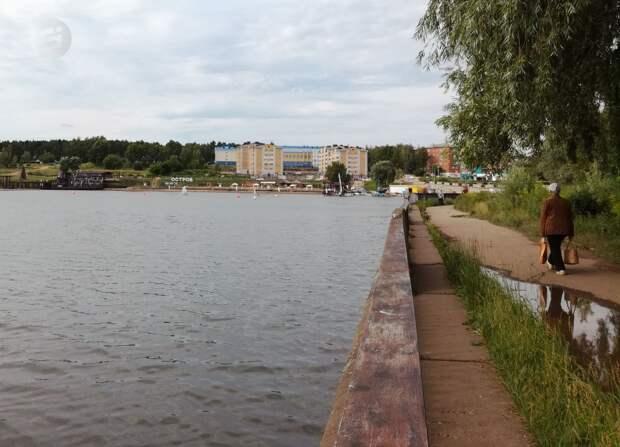 Жители Воткинска проголосовали за ремонт набережной городского пруда