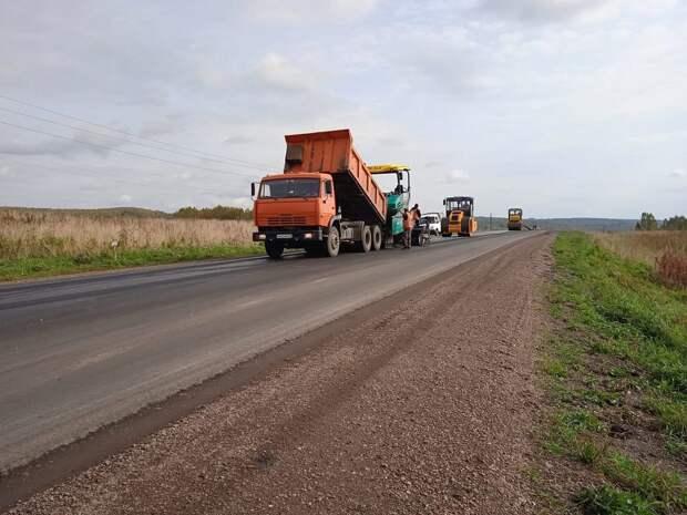 В Балахтинском районе подходит к завершению сезон дорожных работ