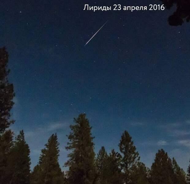 Мистика метеорного потока Лириды: каждый год его «звезды» прилетают на день рождения Ленина