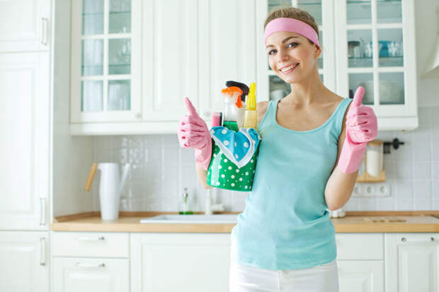 Полезные советы, как правильно убирать в квартире