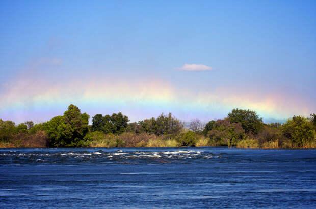 rainbow11 Радуга над самым большим водопадом в мире
