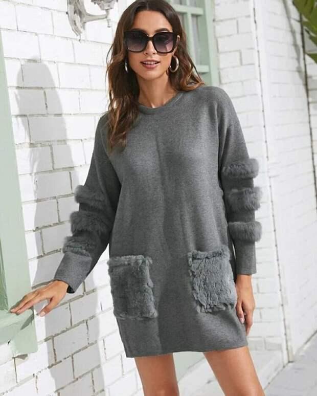 Не просто длинный свитер: 10 нетривиальных трикотажных платьев, которые в моде в 2020-2021