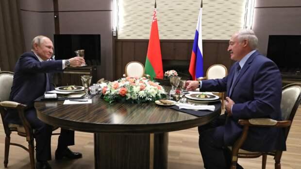 Путин и Лукашенко закончили четырехчасовые переговоры