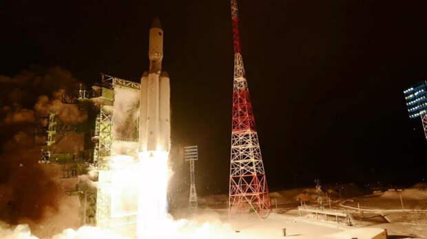 Первый пуск ракеты тяжёлого класса Ангара-А5