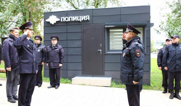 Стационарный пост полиции открыли на Центральной площади Ижевска