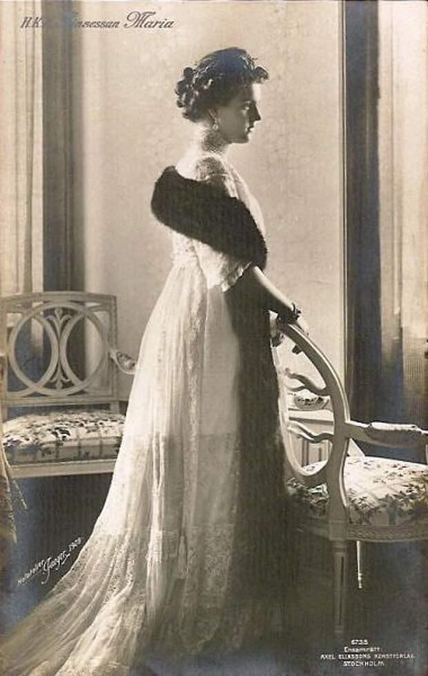 1909 Princess Marie of Sweden, Grand Duchess Maria Pavlovna
