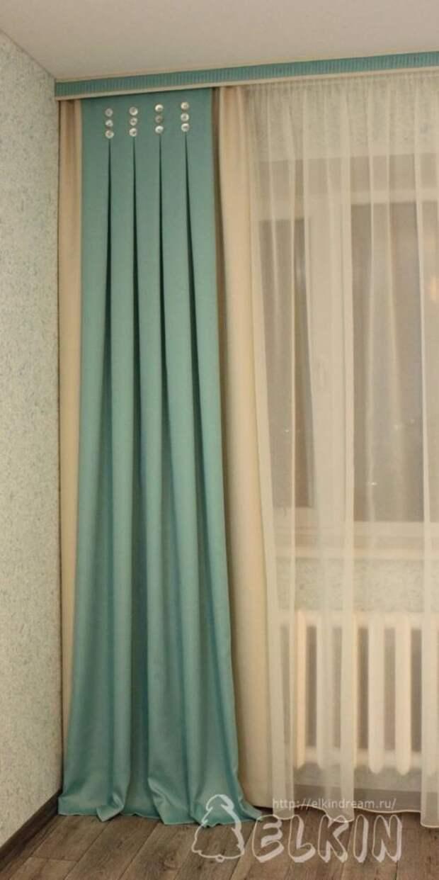 Оформление окон текстилем: нестандартные решения, делающие обстановку особенной