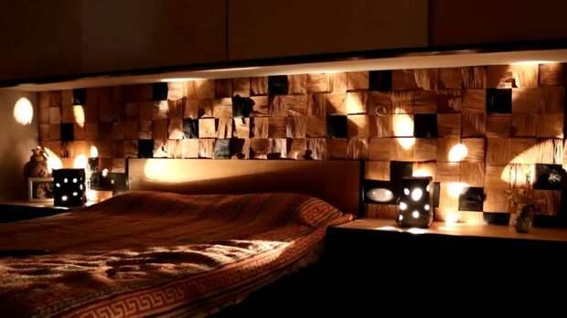 Уютный и красивый декор из деревянных щепок