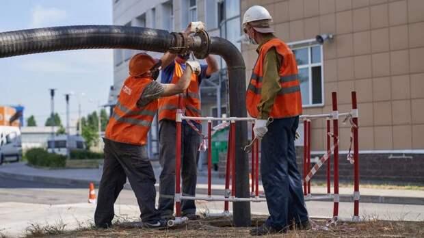 Испытания тепловых сетей на прочность и плотность пройдут в пяти районах Петербурга