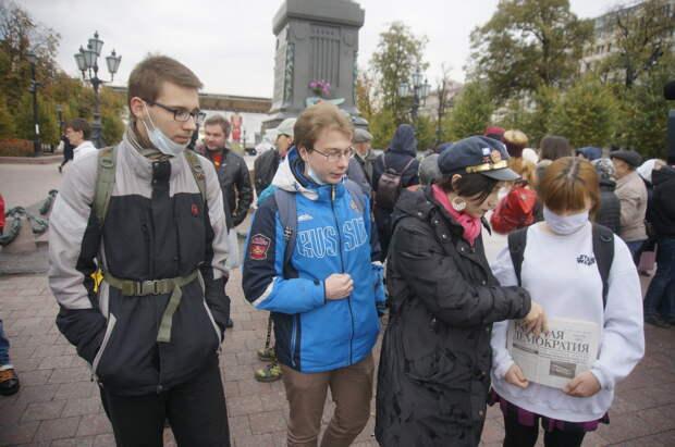 Так вот вы какие, московские майданщики: Митинг на Пушкинской площади
