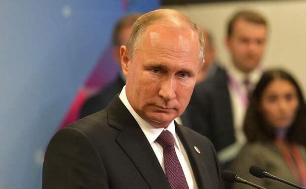 Путин прокомментировал слова обматерившего его грузинского журналиста