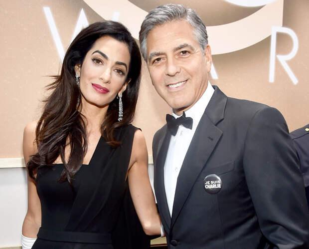 СМИ: Джордж и Амаль Клуни вновь станут родителям