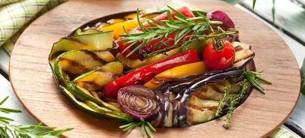 овощи гриль в духовке рецепт