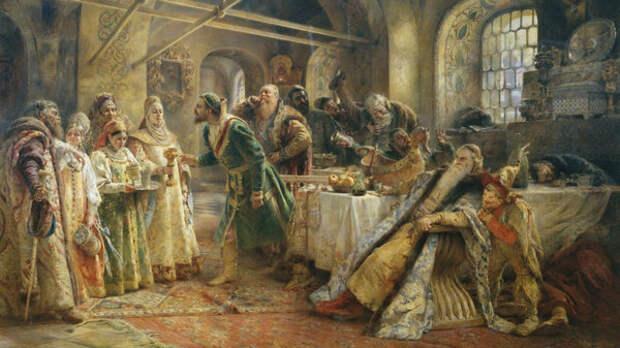венчание Ивана Грозного