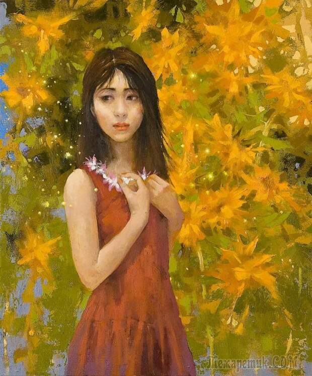 Корейская живопись Нам Тхэксу