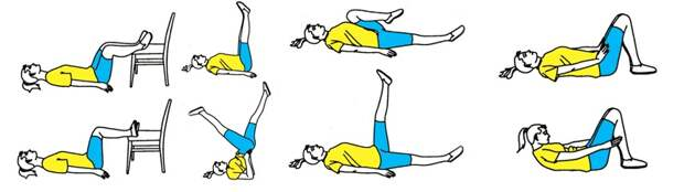 лечебная гимнастика для сосудов ног