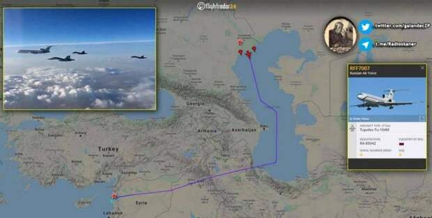 Москва увеличивает группировку ВКС в Сирии, наблюдая за колоннами турецких войск