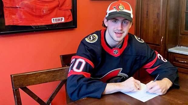 Мечта русского таланта сбылась в Канаде. 20-летний Соколов стал ближе к НХЛ, подписав контракт с «Оттавой»