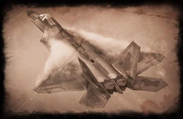 """Истребитель ВВС США Raptor F-22: высокотехнологичный """"вор""""-неудачник"""