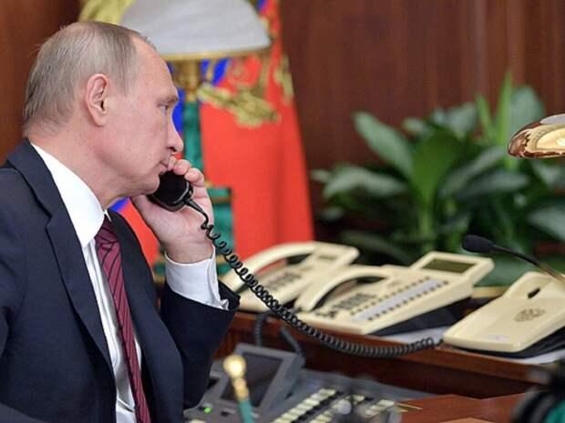 Путин заявил об отсутствии у него мобильного телефона
