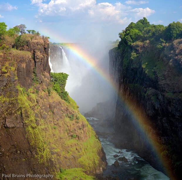 rainbow25 Радуга над самым большим водопадом в мире