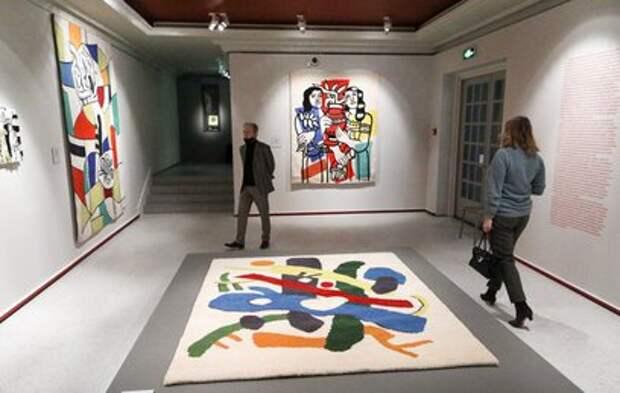 Керамику и текстиль Пикассо, Матисса и Леже показали в Пушкинском музее