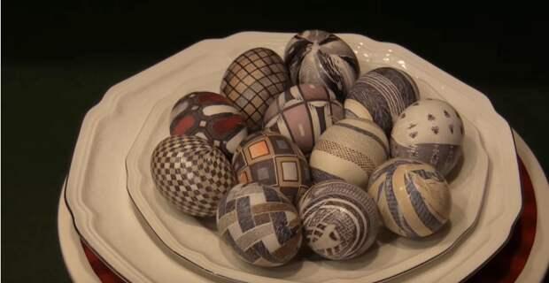 Самый простой способ покрасить яйца на Пасху