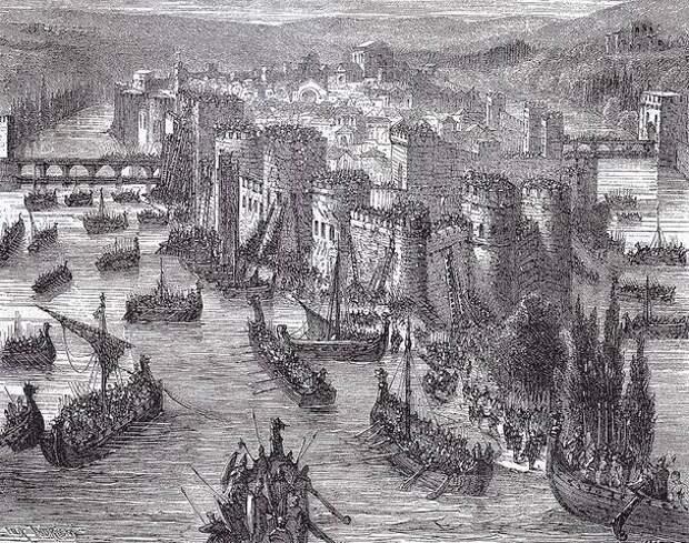 Викинги в Париже.