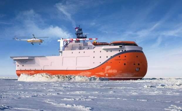 Самодвижущаяся платформа «Северный полюс» уникальна – подробности