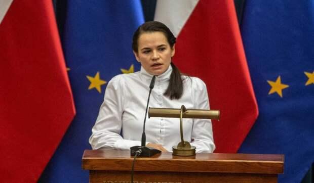 Деятельность Тихановской назвали имитацией политики: Играет роль декоративного лидера