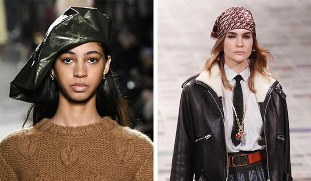 Модные аксессуары Осень Зима 2020-2021: сумки, обувь, шарфы