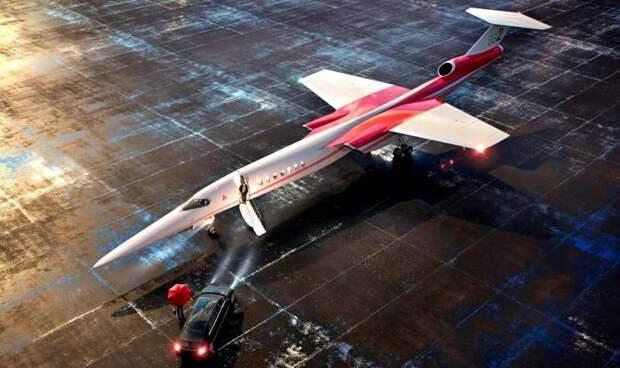 Американский сверхзвуковой лайнер может пойти в серию уже в 2023 году