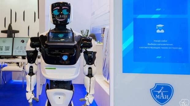 В Московском авиационном институте рассказали о помощи роботов для профориентации