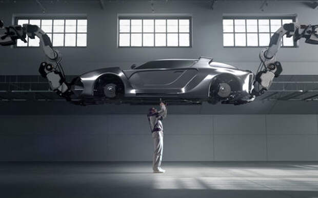 Экзоскелет Hyundai: теперь вы работаете часами не опуская рук!