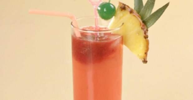 Спиртные напитки. Коктейль Летящий кенгуру