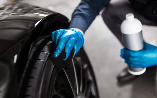 Чернение шин — 6 способов навести лоск. Недорого!