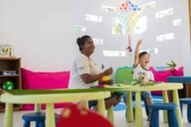 Детский клуб в DhigaliMaldives