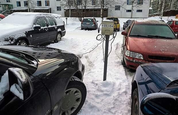 финские парковки