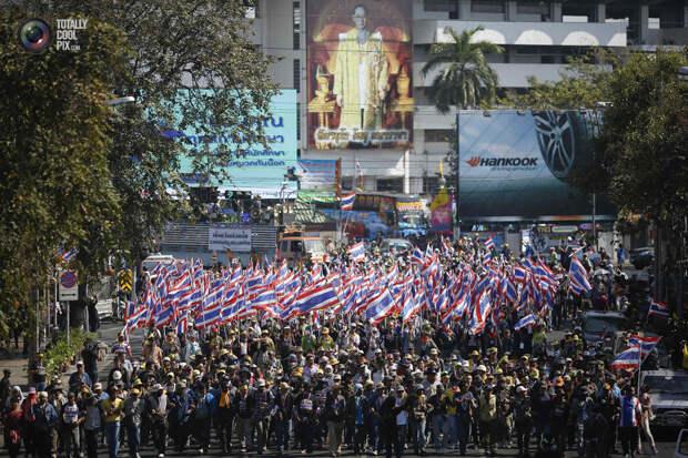 Демонстрации в Таиланде
