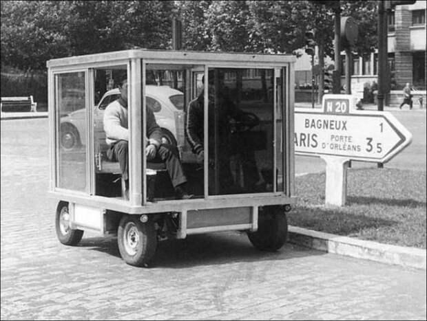 Необычные транспортные средства из прошлого