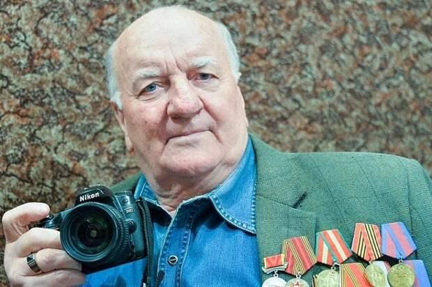 На Кубани умер известный фотокорреспондент Петр Янель
