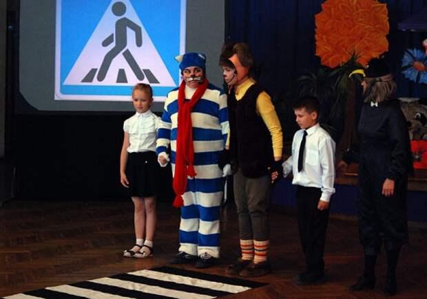 В Севастополе прошла программа «Школа пешеходных наук»