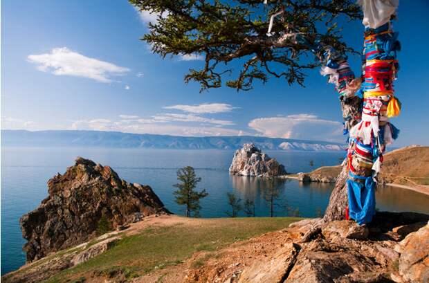 4 необыкновенных места силы на озере Байкал