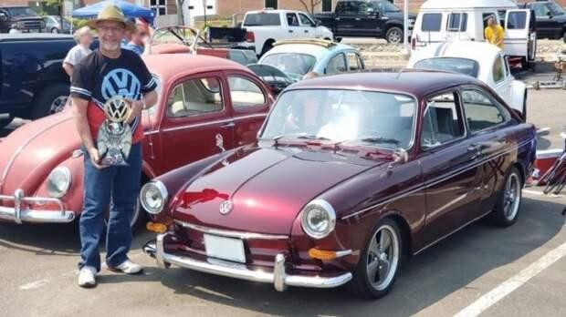 Американец выкупил и восстановил отцовский Volkswagen Type 3 1967 года