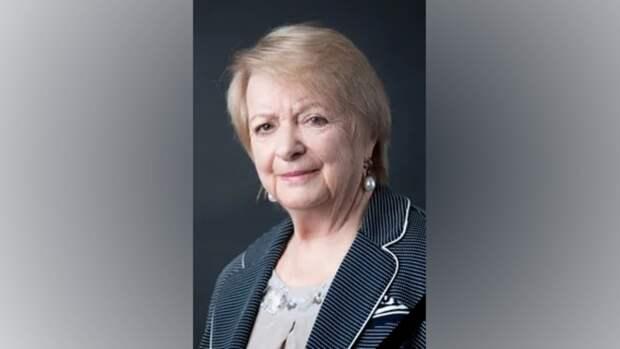 Скончалась профессор РГУ нефти игаза имени И.М.Губкина Валентина Зубарева