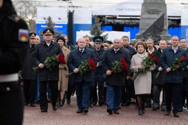 В Севастополе празднуют седьмую годовщину воссоединения с Россией