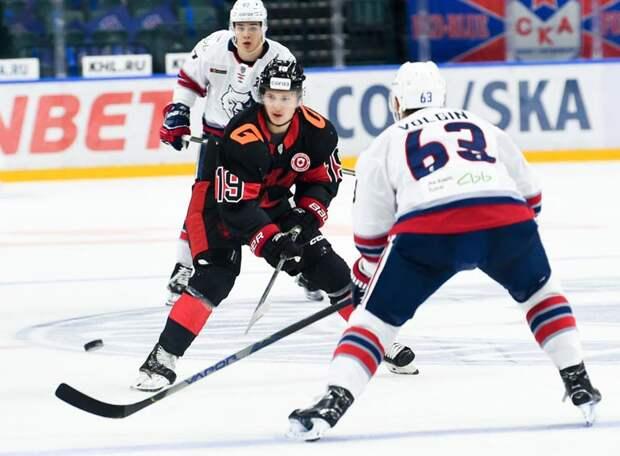 СКА уступил за полторы минуты до сирены в Магнитогорске. «Магнитка» билась так, словно уже начался плей-офф
