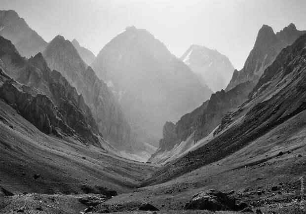 bnwmountains15 Черно белые фотографии гор